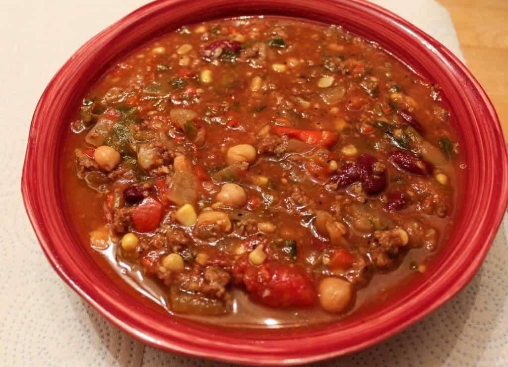 Crock Pot Hamburger Soup Homemade Food Junkie