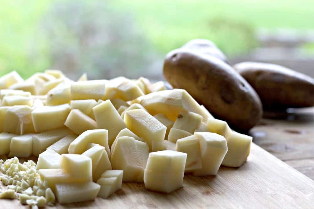 Potatoes for Potato Leek Soup