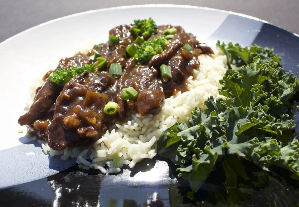 Crock Pot Asian Broccoli Beef Dinner