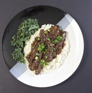 Crock Pot Asian Broccoli Beef Dinner