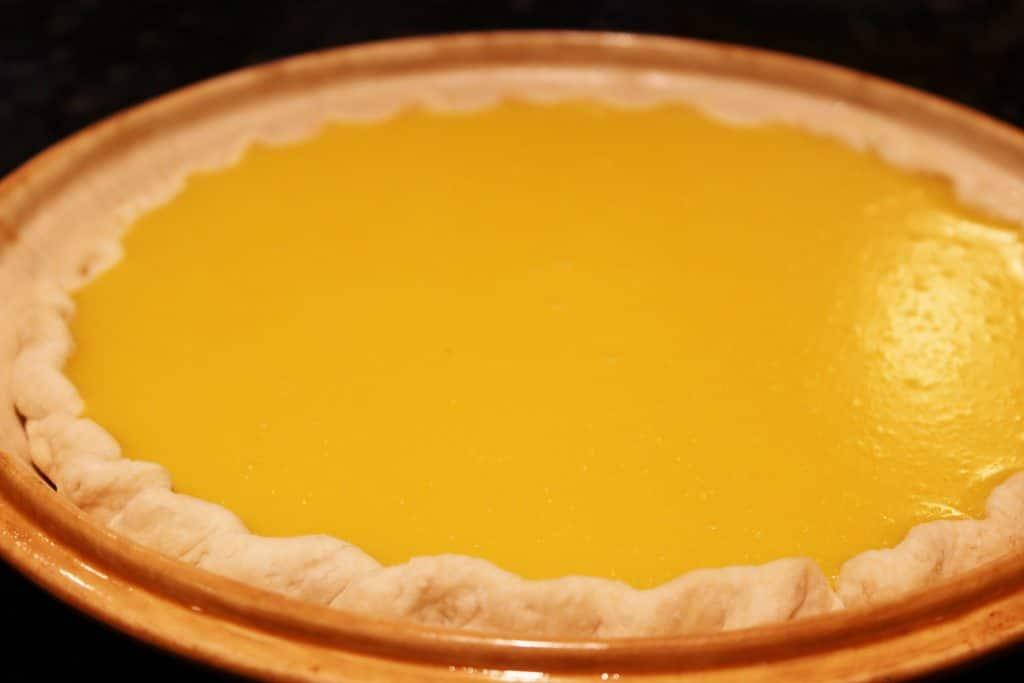 Baked single pie crust recipe