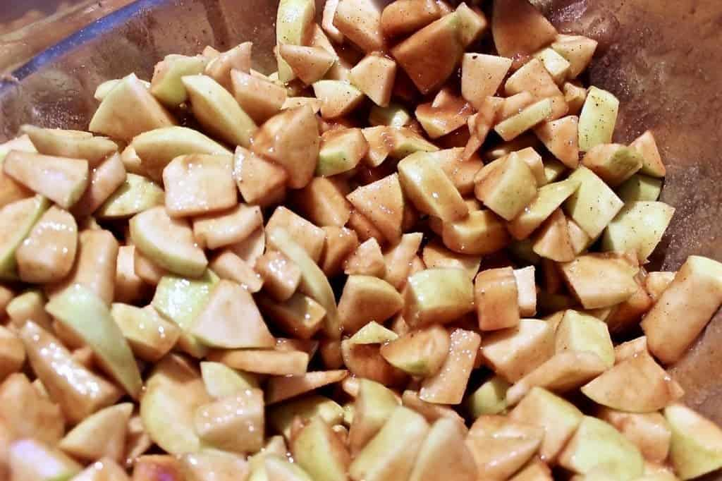 caramel Apple Pie apples