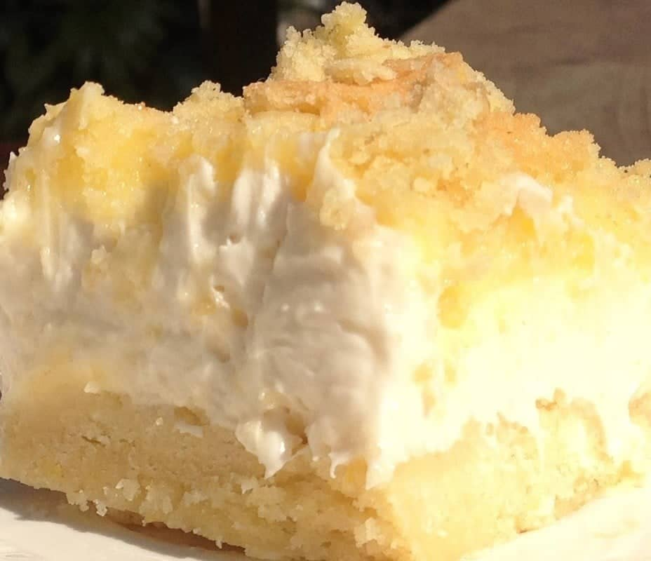 Lemon Cheesecake Delight