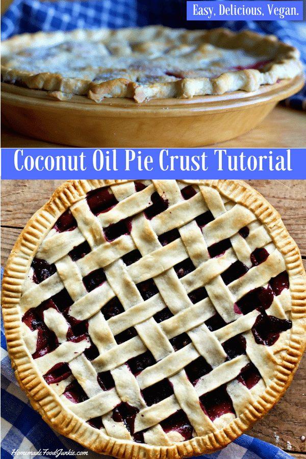 Coconut Oil Pie Crust Tutorial