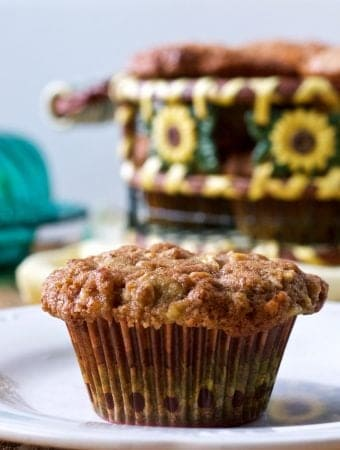 Fresh Apple spic Muffins