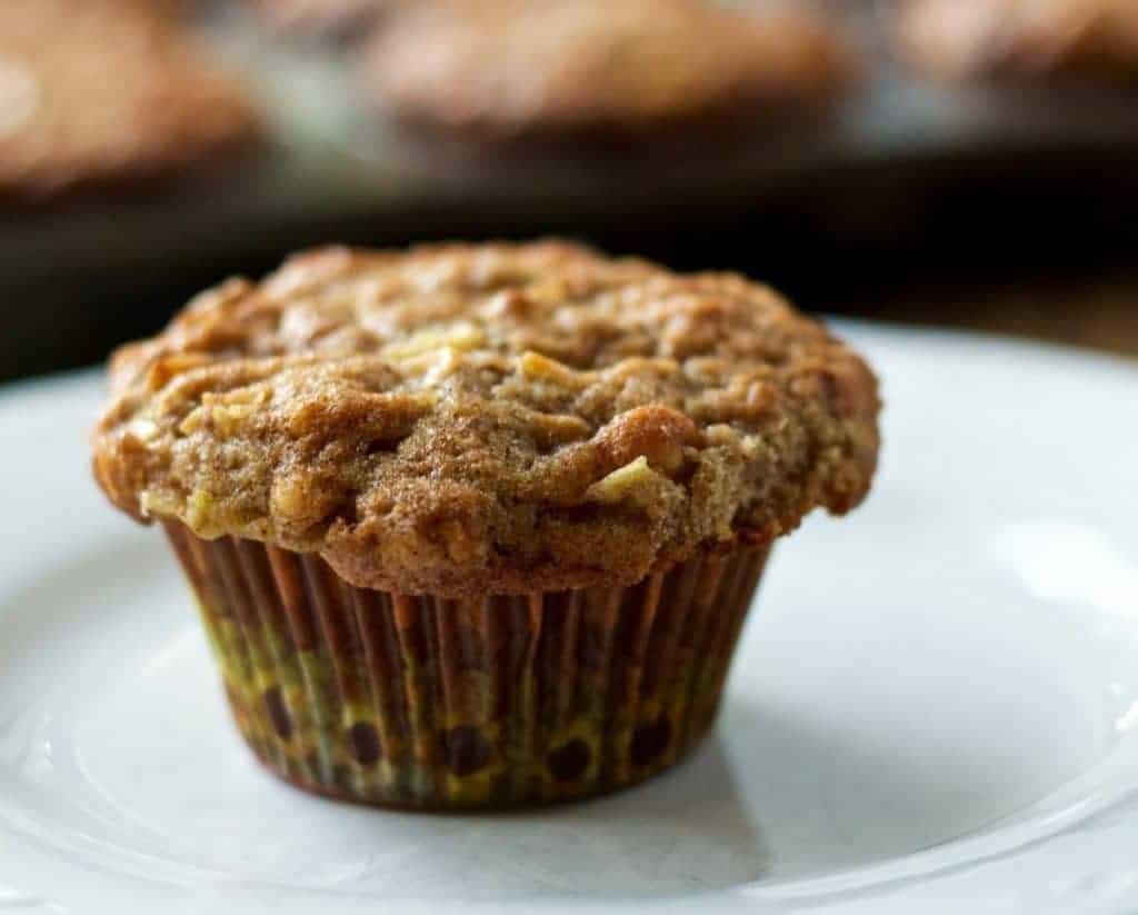 Fresh Apple Spice Muffins