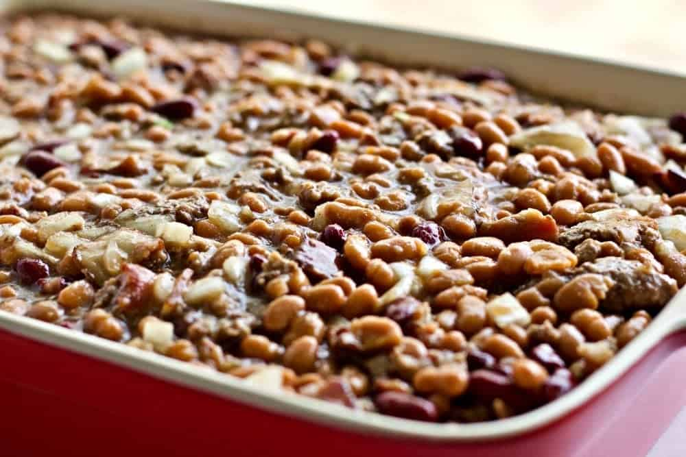 Hamburger Bean Casserole