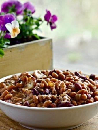 Hamburger Bean Casserole
