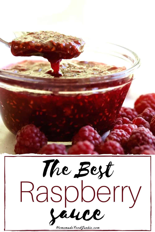 The best Raspberry sauce-pin image