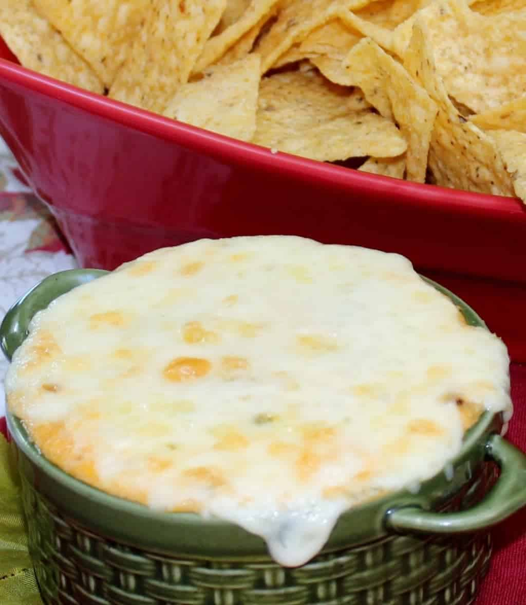 Roasted corn Chip Dip