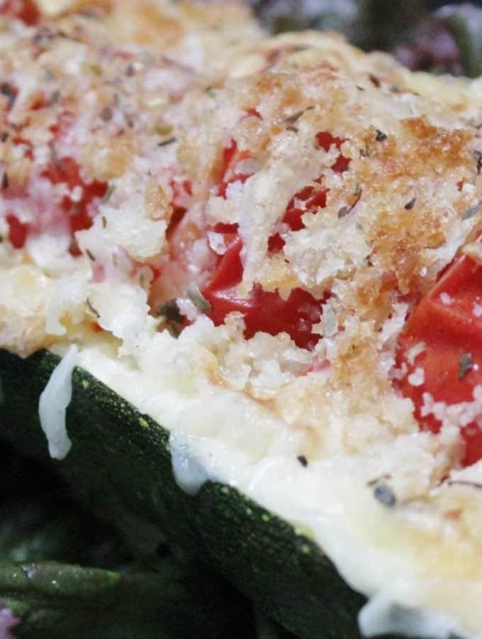 Italian Stuffed Meatloaf Vegetarian Italian Stuffed Zucchini Meatloaf ...