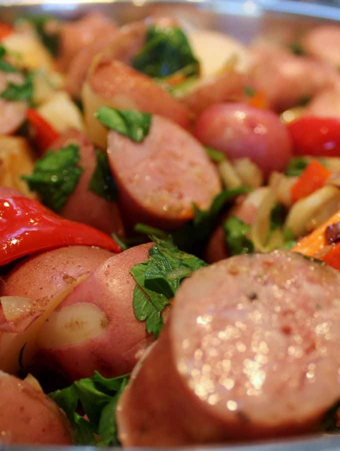 Potato-Sausage Stir-Fry
