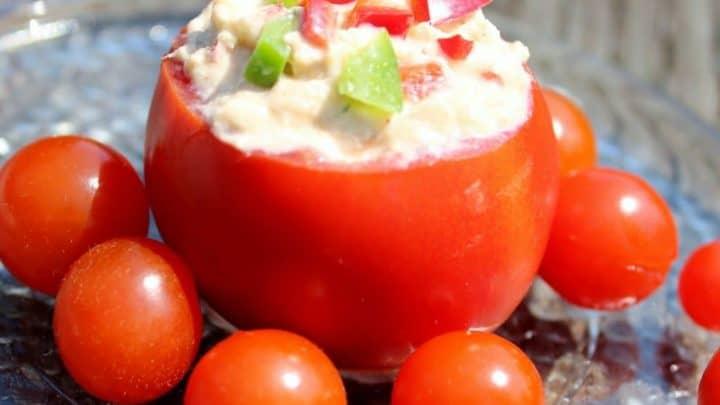 Tomato Tuna Cups Recipe