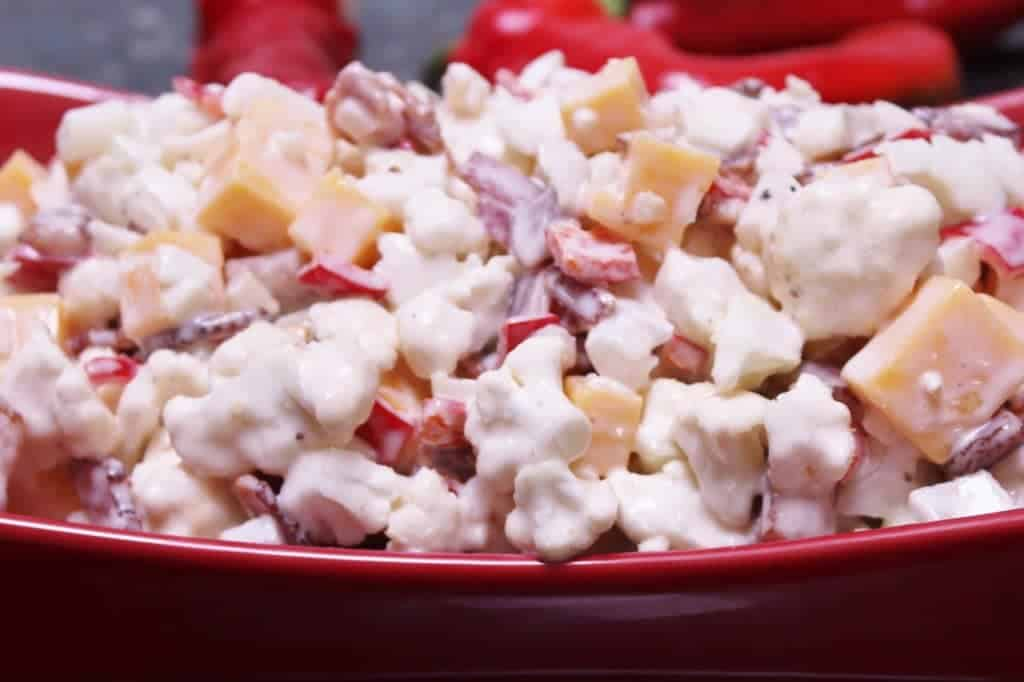 Cauliflower Bacon Salad