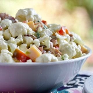 Cauliflower Pepper Salad