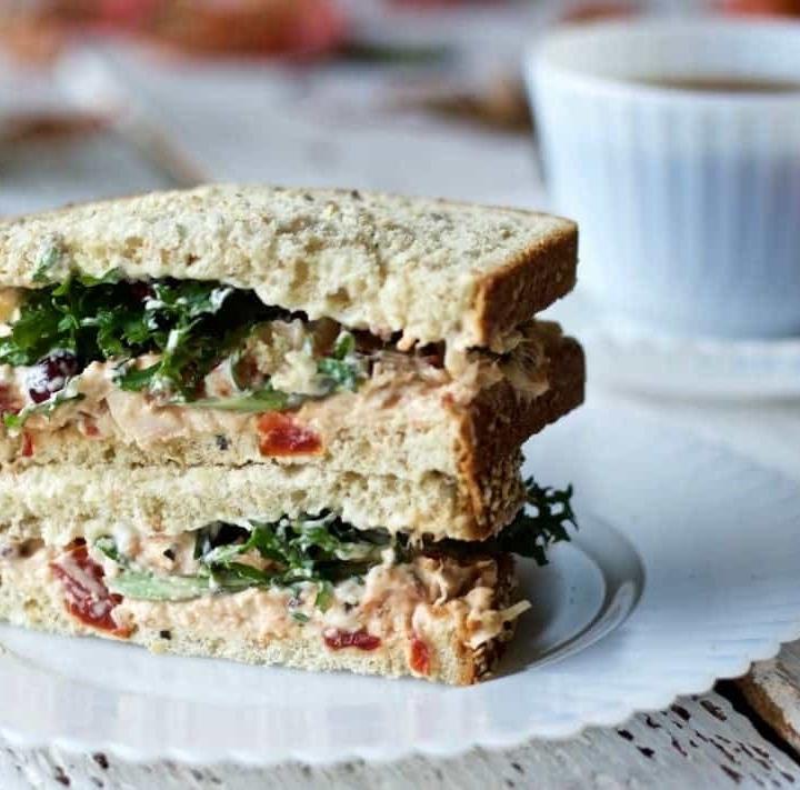 Chicken Spread Recipe makes a great sandwich! http://homemadefoodjunkie.com