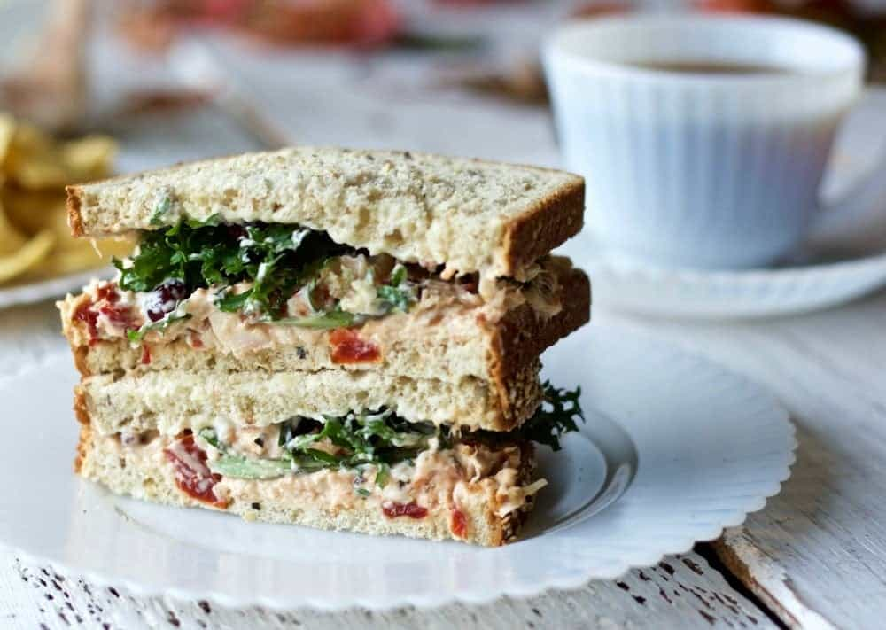 Chicken Spread Recipe makes a great sandwich! http://homemadefoodjunkie.com