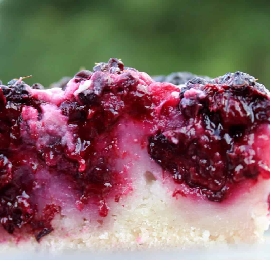 Blackberry cobbler is stuffed with luscious, juicy blackberries, nestled into a moist, sweet dough.
