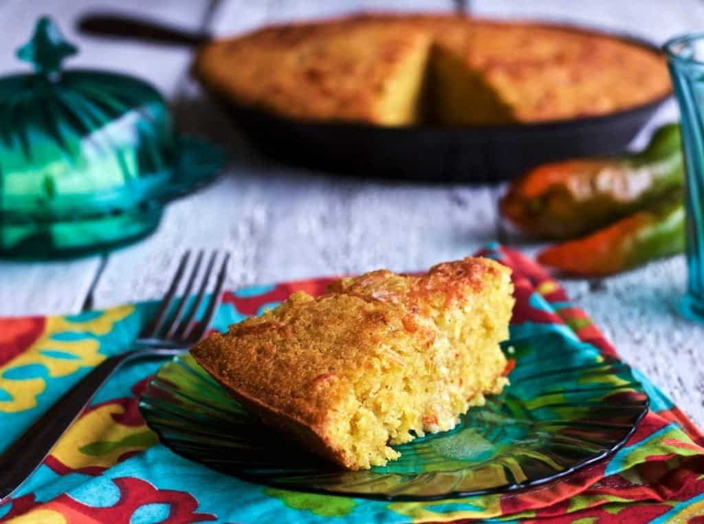 Mexican Cornbread single slice