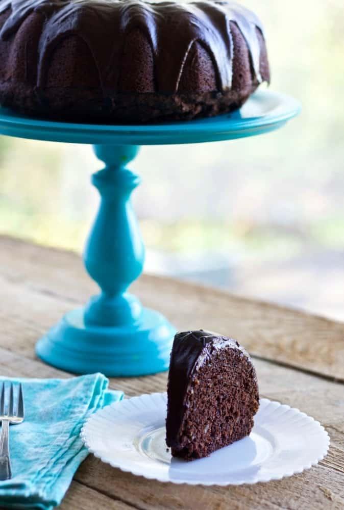 Chocolate Zucchini Bread (or cake)