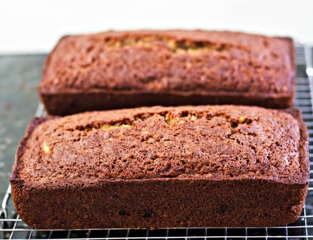 Zucchini Pineapple Bread-Dairy Free And Delicious!