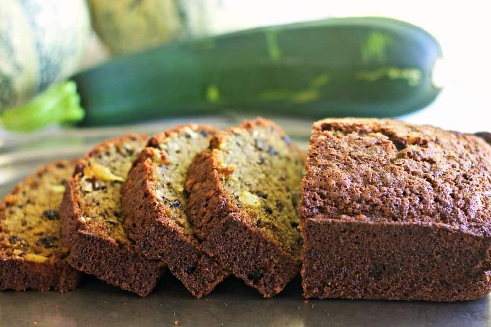 Zucchini Pineapple Bread-very popular bread for fall parties! Dairy free