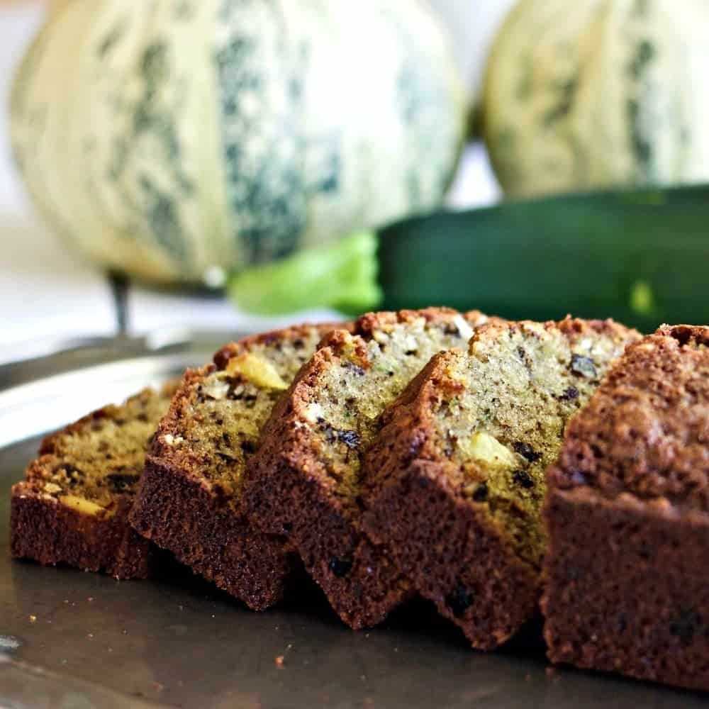 Zucchini Pineapple Bread- Made With Either Fresh Or Canned Pineapple!