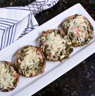Susie's Veggie Stuffed Mushrooms