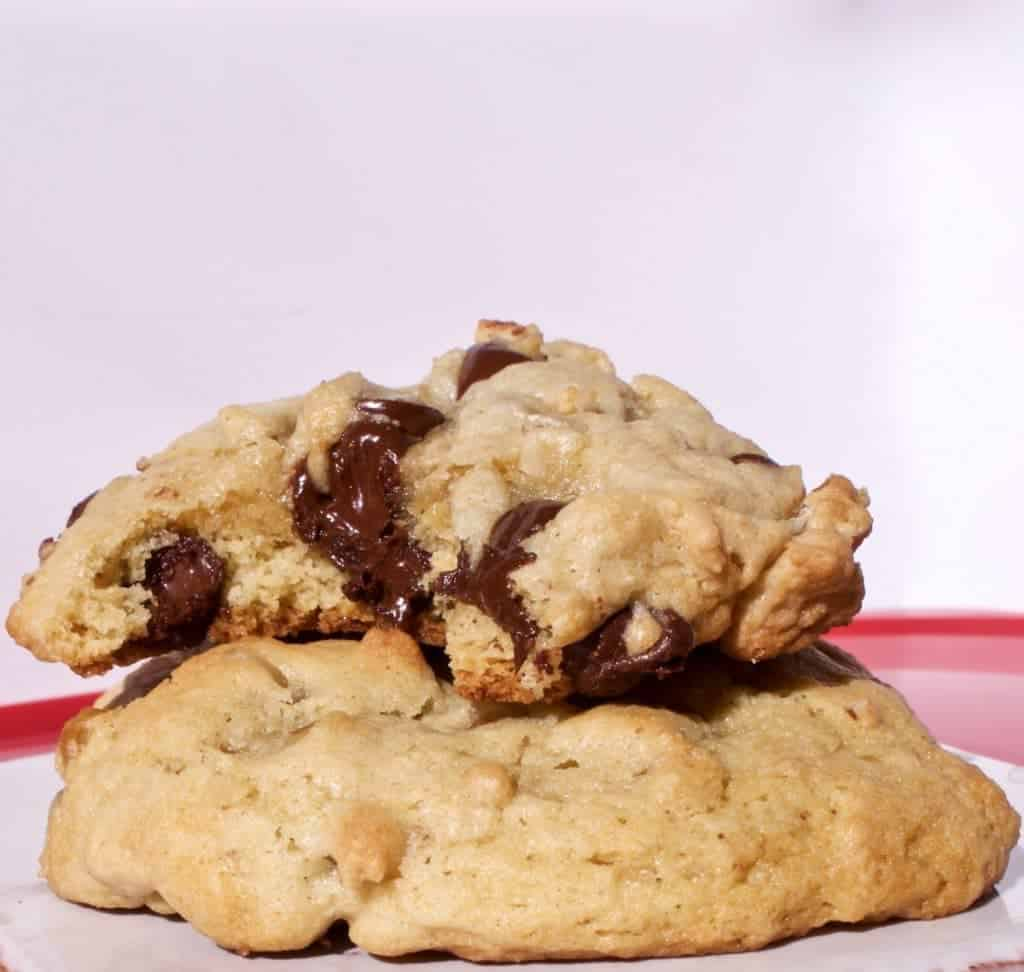 Deliciously Dark Chocolate Chip Cookies