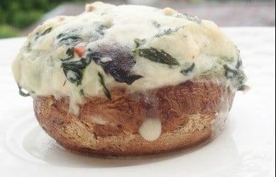 Susie's Veggie Stuffed Mushrooms By Homemadefoodjunkie.com