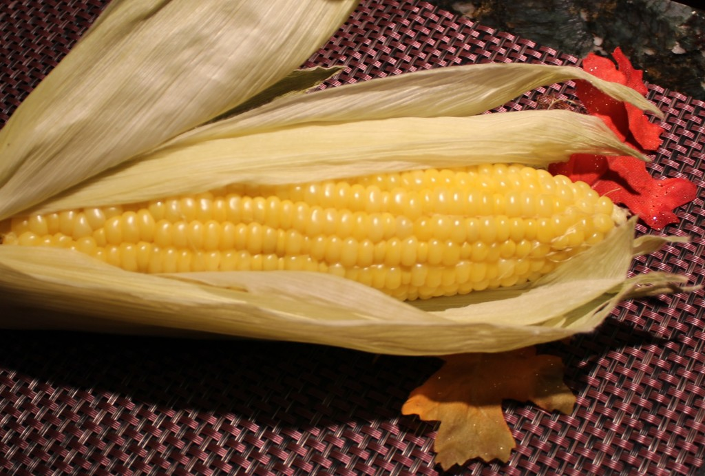 Baked Corn on the cob. Ready to eat!
