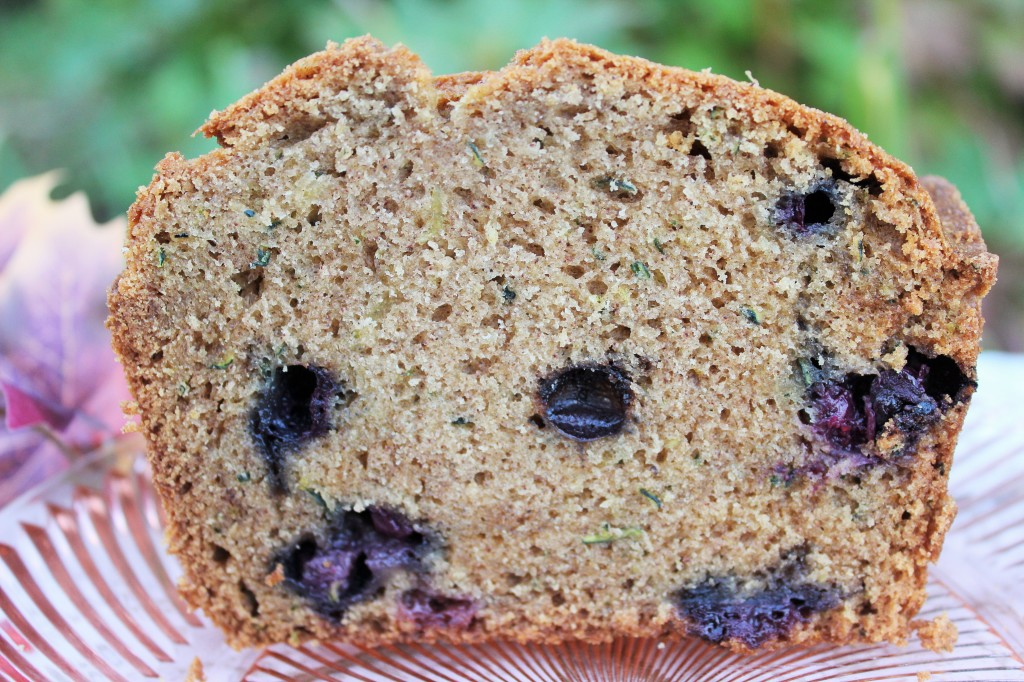 Blueberry Zucchini Bread-Homemade Food Junkie