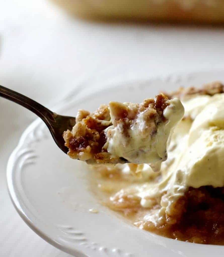 Apple Crisp With Coconut Oil