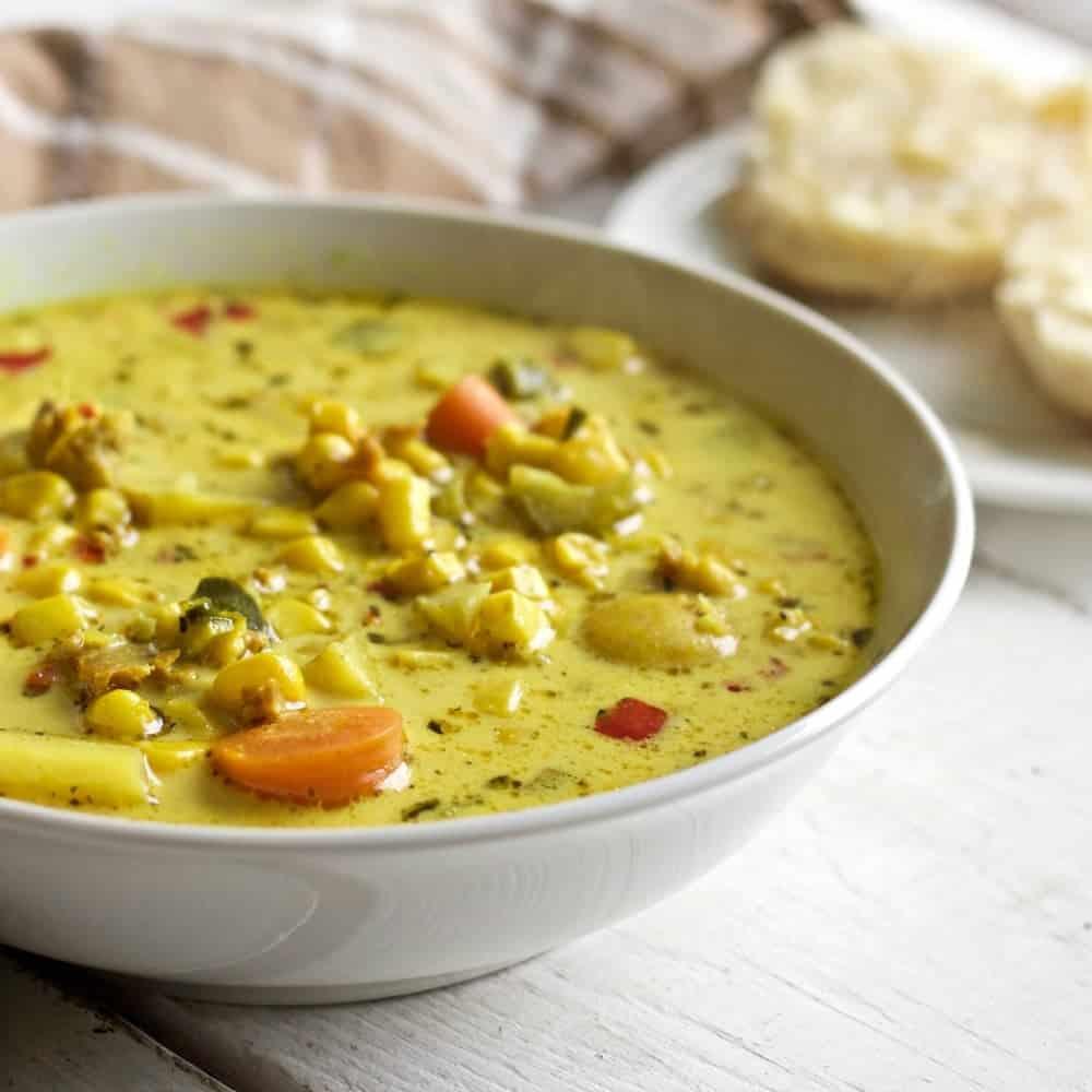 Corn N Sausage Chowder