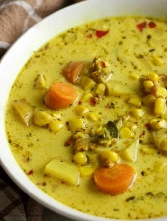 Corn N Sausage Chowder Recipe Gluten free and nutritionally balanced