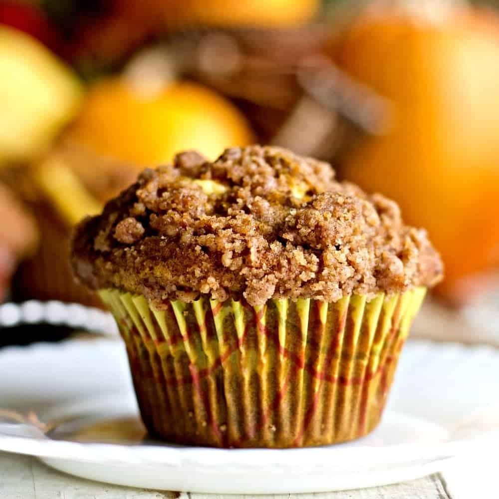 Homemade Creamy Pumpkin Muffins