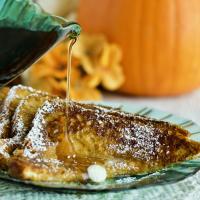 Pumpkin french Toast