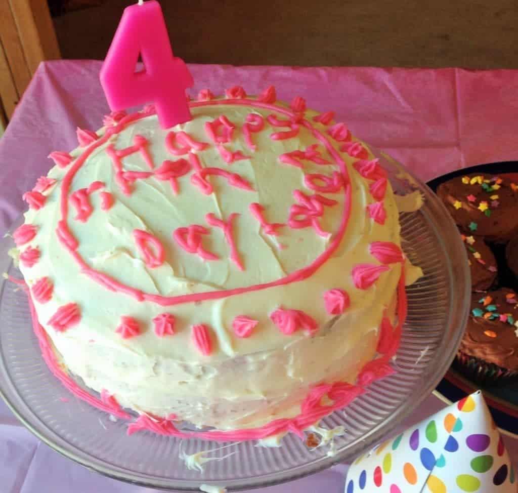 Aliyah's Simple White Cake