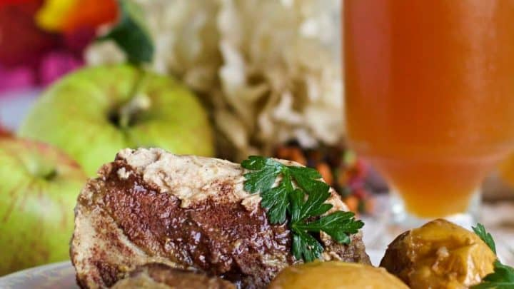Crock Pot Apple Cider Pork Roast