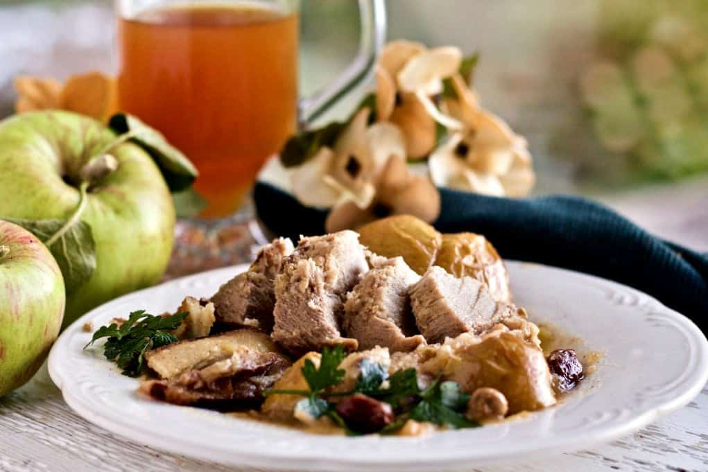 Crockpot (or instant Pot)Apple Cider Pork Roast