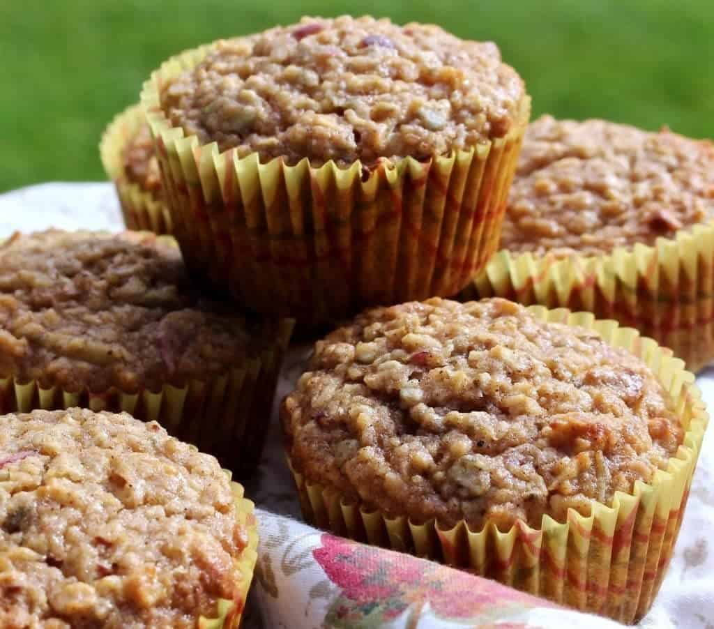 Apple Pumpkin Seed Muffins