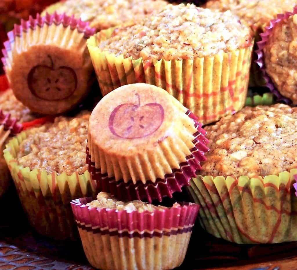 Apple Pumpkin Seed Muffin