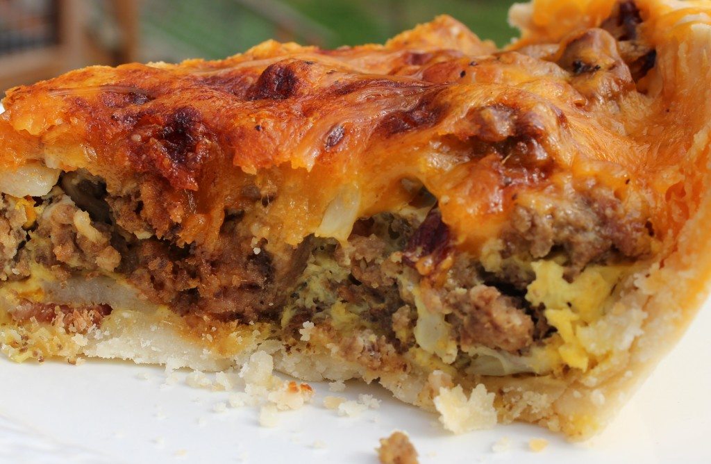 Cheesy Hamburger Pie | Homemade Food Junkie