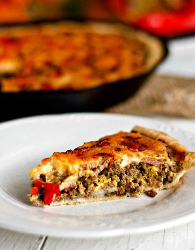 Cheesy Hamburger Pie Recipe