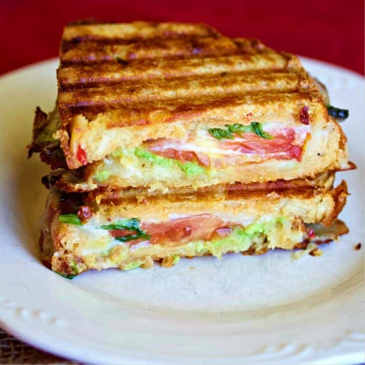 Southwest Taosted Cheese Sandwich Stacked 1