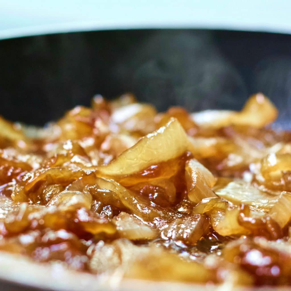 Caramelized Onions cooking