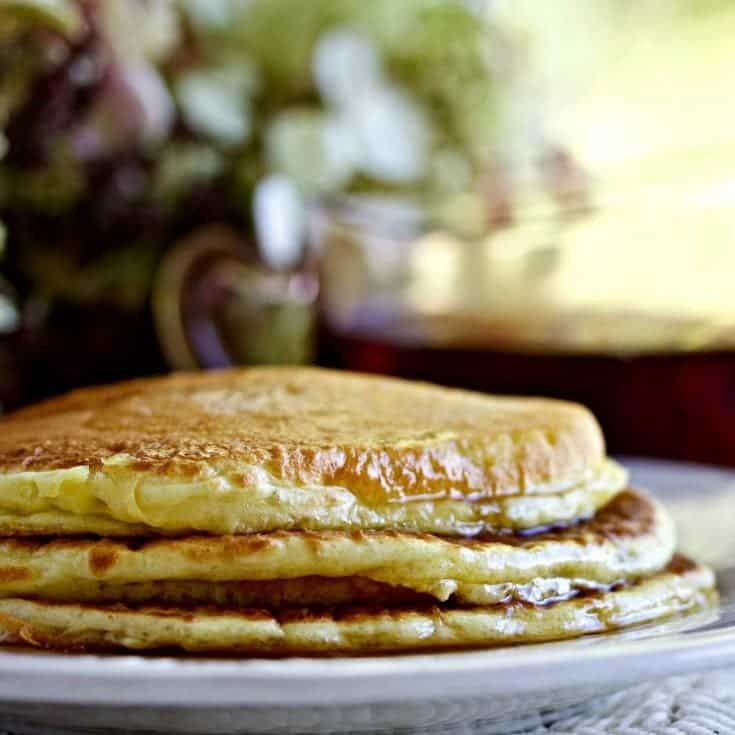 Greek Yogurt Pancakes 1