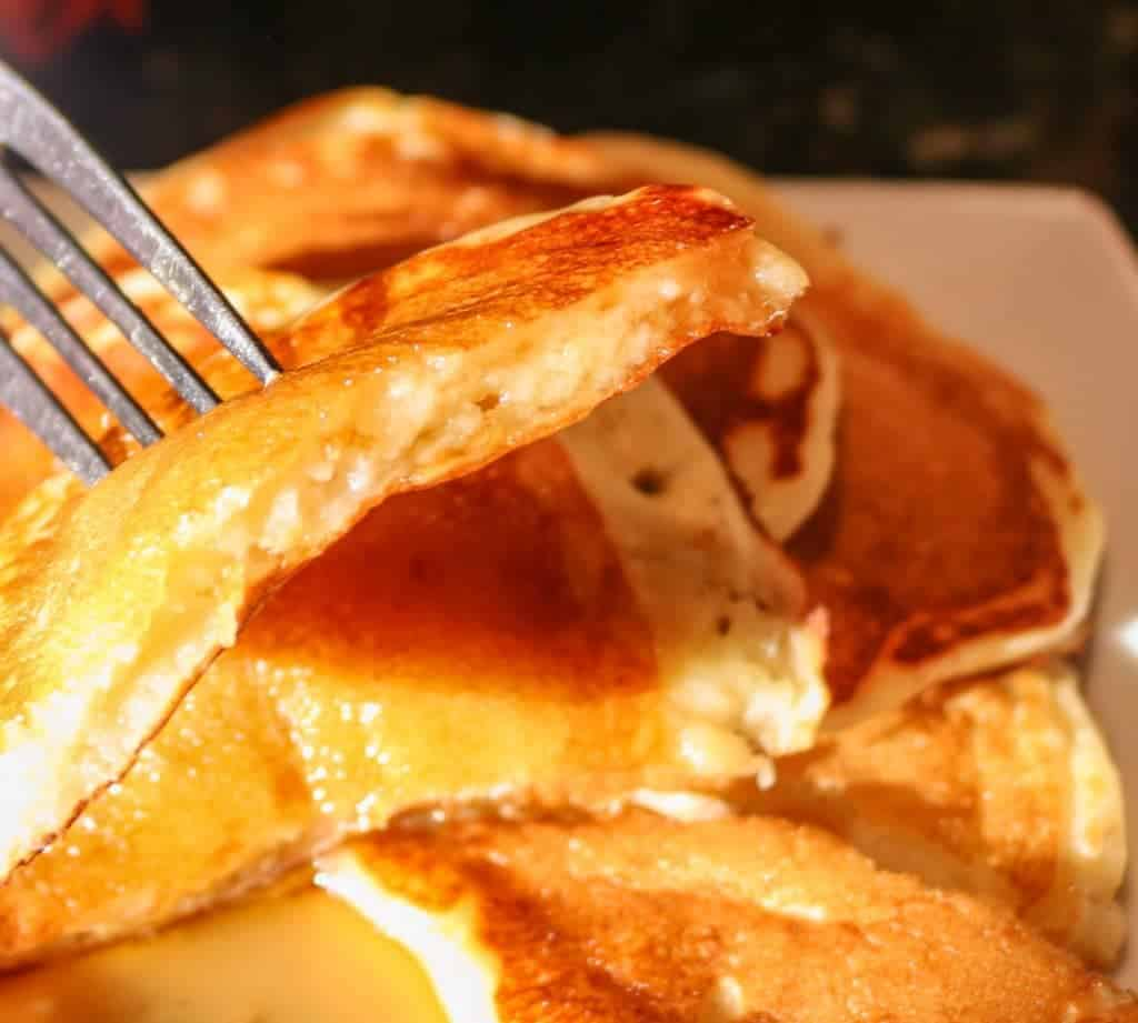 how to make homemade pancakes from scratch without eggs