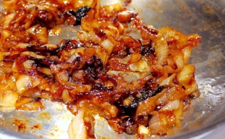 Caramelized Onions ready forcrock pot french dip sandwich with Caramelized Onions