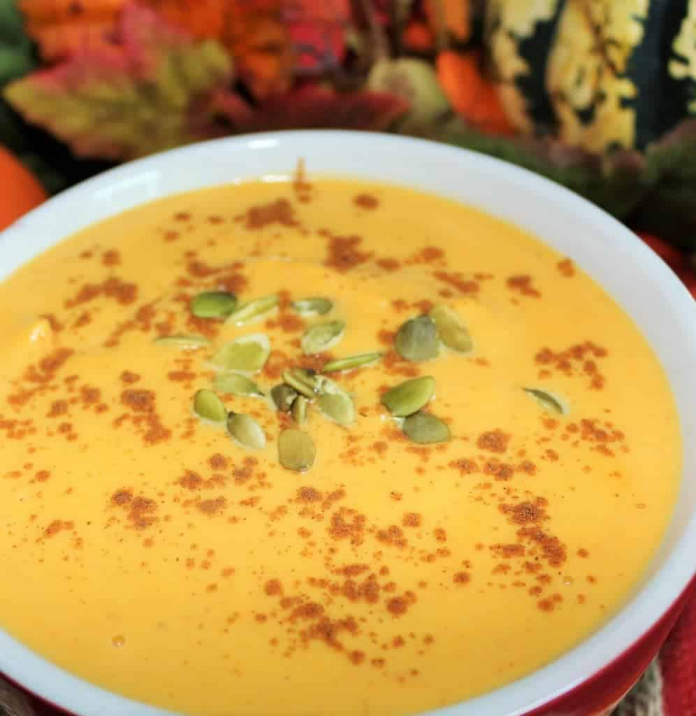 Butternut pumpkin soup